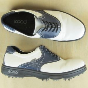 ECCO Golf Shoe US 7 7.5 EU38 Women Gore Tex Oxford